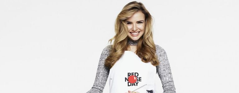 Nadine gets cooking in aid of Comic Relief