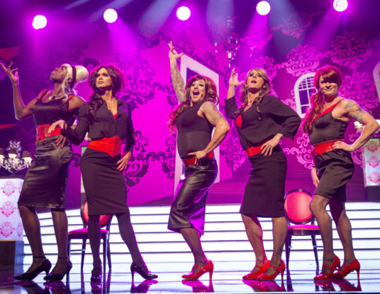[VIDEO] Kimberley gets Girls Aloud back together… sort of