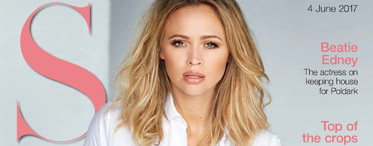 Kimberley in S Magazine