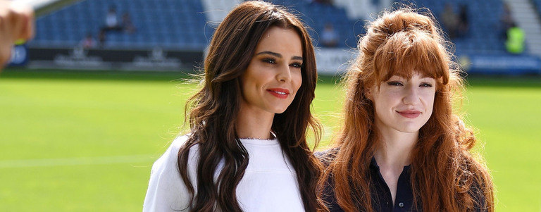 Cheryl and Nicola show their support at #Game4Grenfell