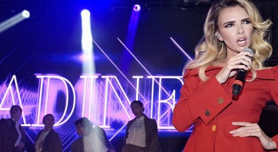 Nadine Coyle goes to work at G-A-Y!